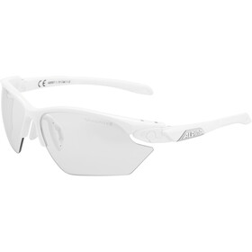 Alpina Twist Five HR S VL+ Lunettes, white